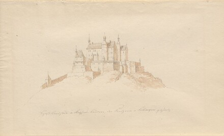 Schloss Landstuhl b. Kaisers, Lautern, den Prinzen v. Sickingen gehürig