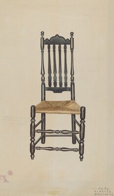 Banister Back Side Chair