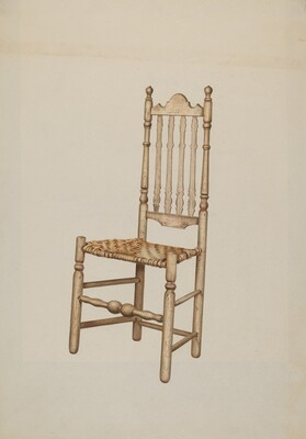 Banister Back Chair