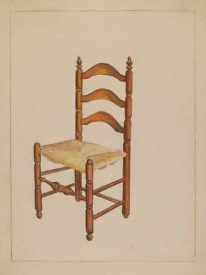 Straw Bottom Chair