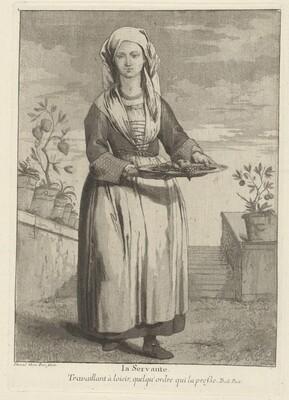 La Servante (The Servant)