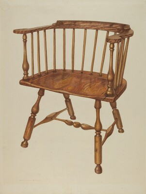 Low-back Stretcher Chair