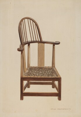 Corner Windsor Chair