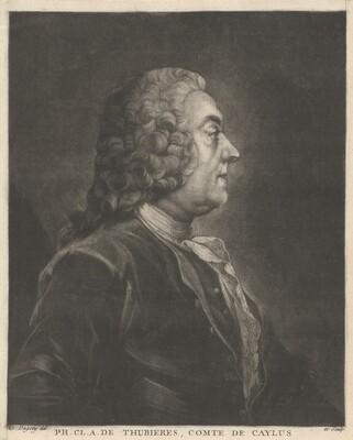 Ph. Cl. A. de Thubières, Comte de Caylus