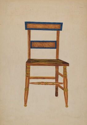 Empire Chair (American)