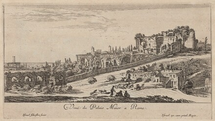 Veuë du Palais Maior a Rome
