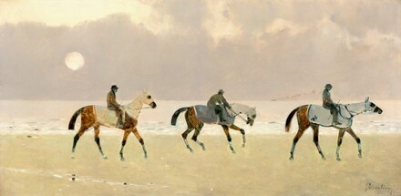 Riders on the Beach at Dieppe