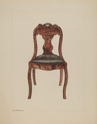 Fiddle-back Chair