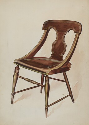 Chair (painted)