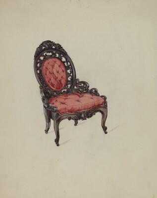 Hoopskirt Chair