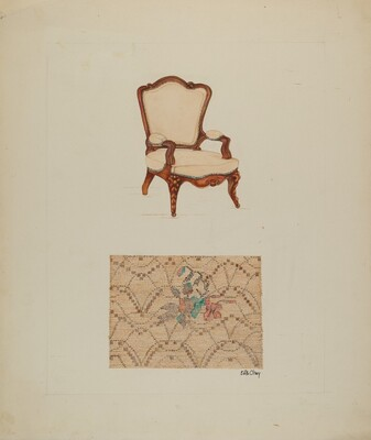 Chair and Tapestry