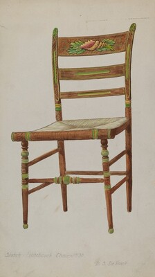 Hitchcock Side Chair