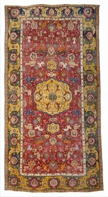 Medallion and Animal Carpet