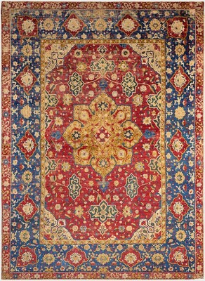 Silk Medallion Rug