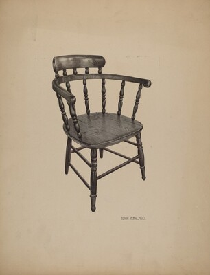 Comb Back Chair