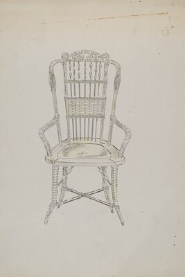 Chinese Cane Chair