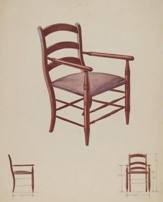 Slat-back Chair