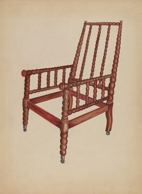 Spool Armchair