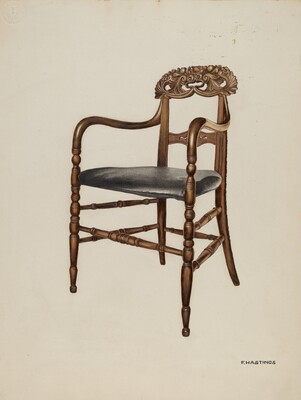 Handcarved Chair