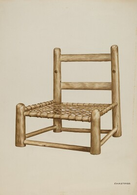 Hickory High Chair