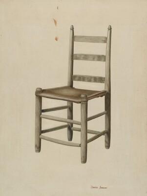 Rawhide-bottom Chair