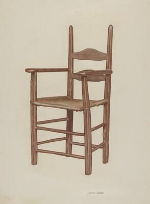 High-bottom High-back Armchair