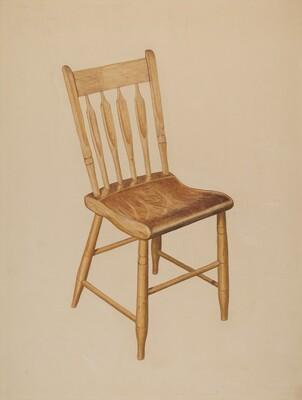 Kitchen Chair (plank bottom)