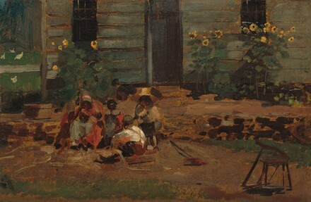 Sketch of a Cottage Yard