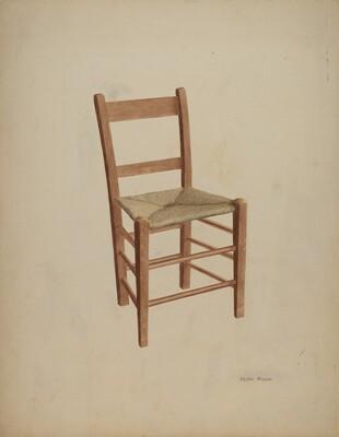 Chair (handmade)