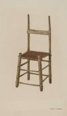 Rope Bottom Chair