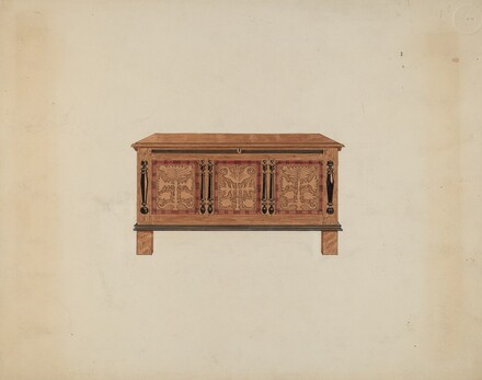 Blanket Chest - Front View