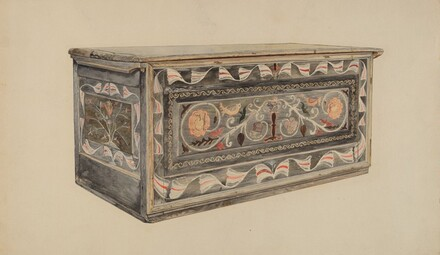 Painted Guilford Chest