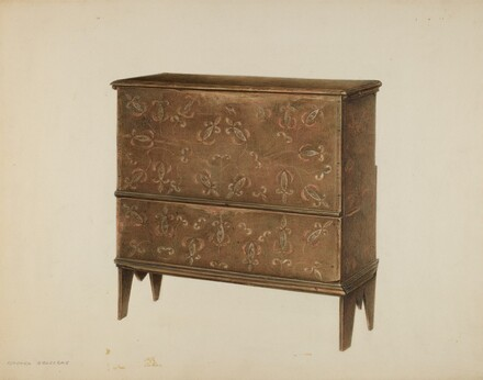 Chest with Drawer