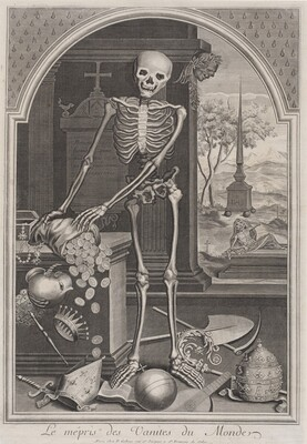 Death with Worldly Vanities