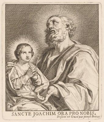 Saint Joachim and the Infant Virgin Mary