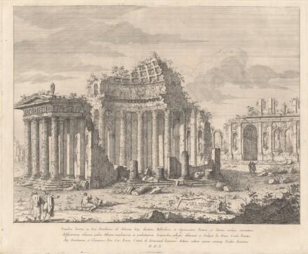 Templum Iunoni, ac Iovi Pavellennio (The Temple of Juno and Jupiter)