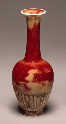 Petal-Decorated Vase