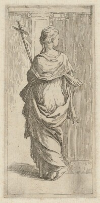 A Girl with a Crucifix