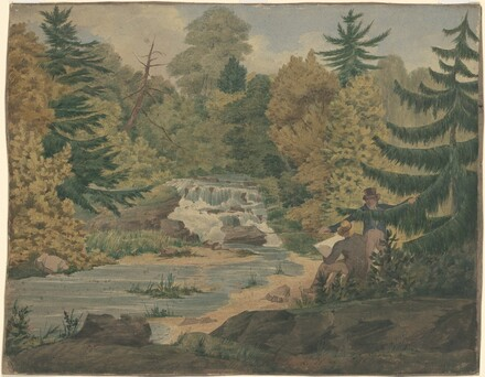 View of the Second Falls on the Sawkill near Mr. Montgomery's