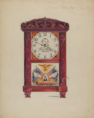Clock, Eight Day