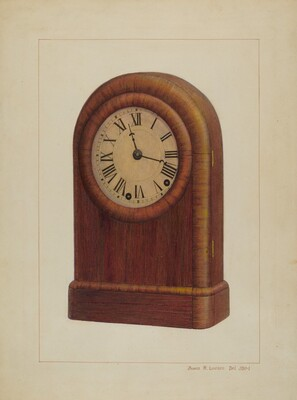 Shelf Clock or Mantel Clock