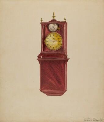 Wall Clock Antique