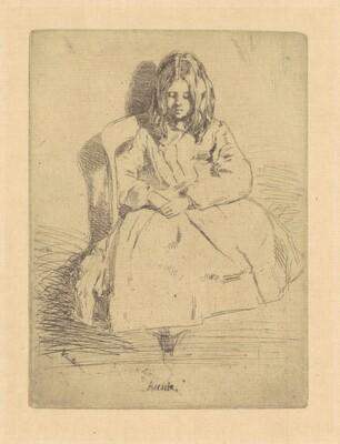Annie, Seated