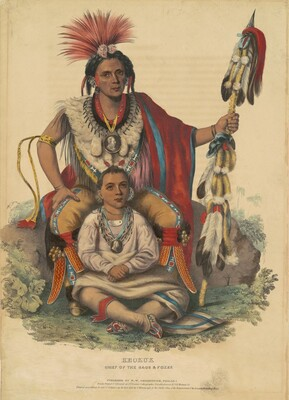 Keokuk, Chief of the Sacs and Foxes