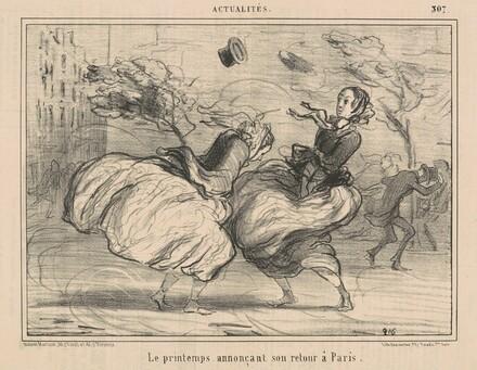 Le printemps annonçant son retour à Paris