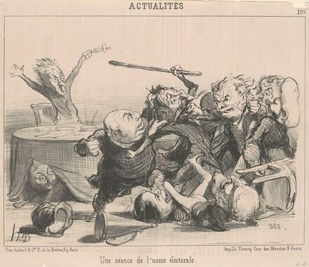 Une séance de l'union électorale