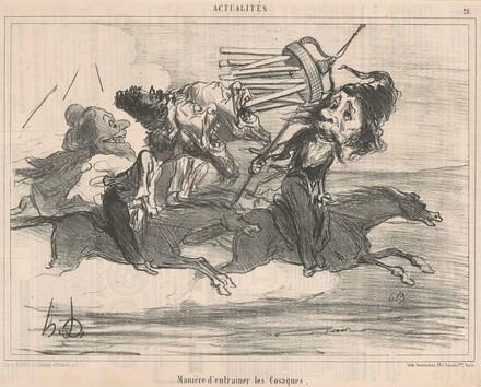 Maniére d'entrainer les cosaques