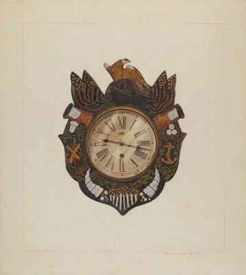 Eight Day Marine Clock