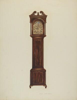 Duncan Beard Grandfather Clock