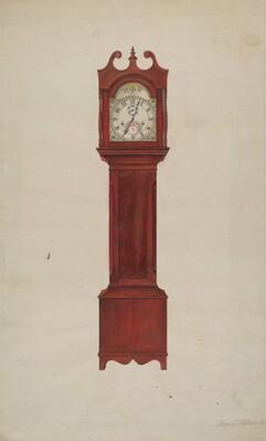 Hall Clock (Grandfather's Clock)